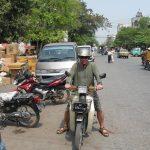 Как я ездил по Мандалаю на мотобайке и попал в руки местным полицаям.