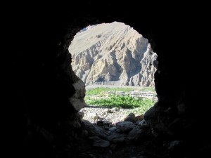 Cave. Tabo. Spiti.