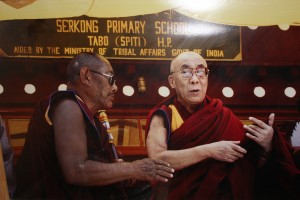 Dalai Lama and Geshe