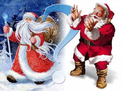 Ded and Santa