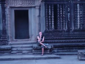 Серебряный браслет Ангкора