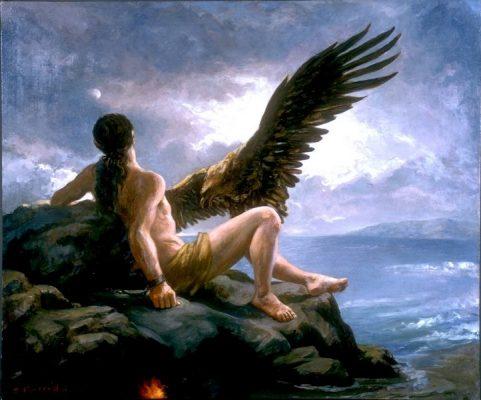 Прометей и орел