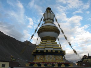 Tabo. Stupa.