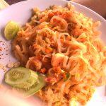 Лучшие блюда тайской кухни. 1. Жареная лапша по-тайски (Пад Тай).