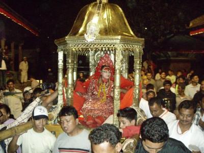 Kumari-goddess