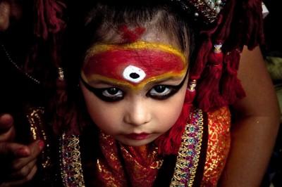 Кумари - богиня-девственница.