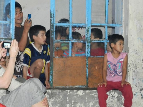 Tibetian children