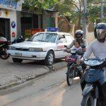Красная пыль камбоджийских дорог-3. Полиция и грабители.