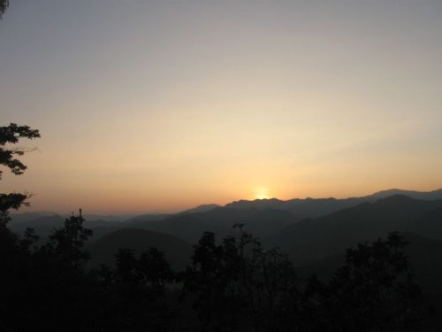 Sunset Doi Kongmu