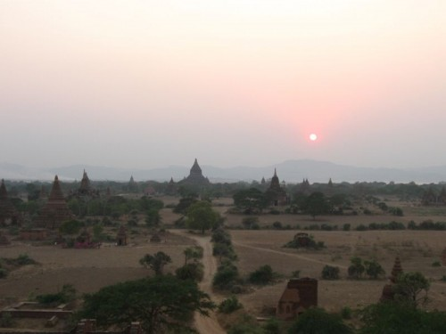 Bagan_Sunset