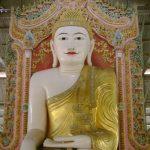 Один день поездки по Бирме. Город Магвей. Золото пагод и булька из земли.