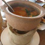 Лучшие блюда тайской кухни. Том Ям с курицей (острый суп с курицей).