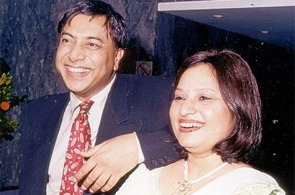 mittal-and-wife