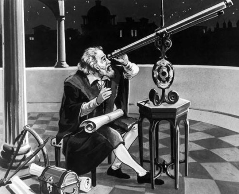 Italian astronomer and physicist, Galileo Galilei