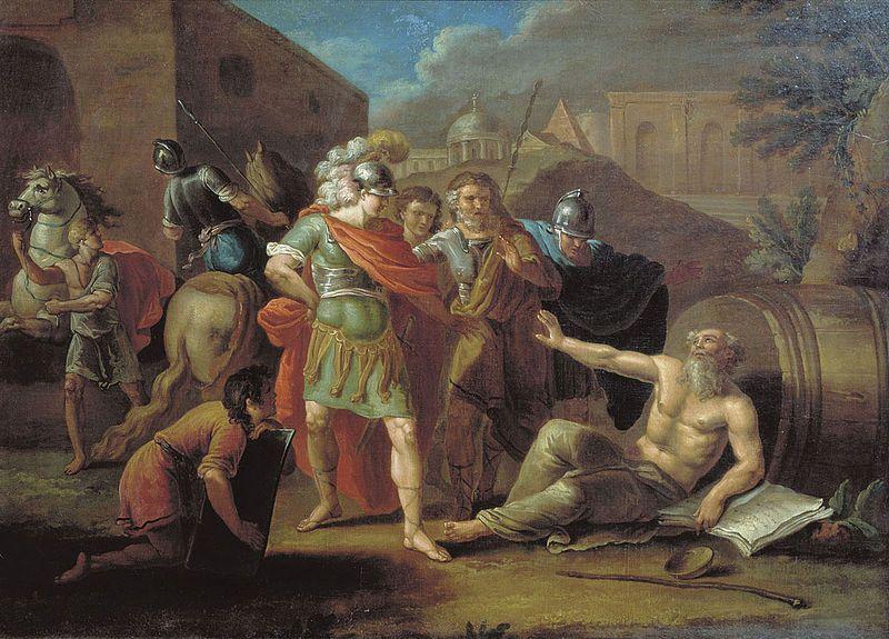 Диоген не жил в бочке бочек в древней