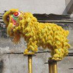 Танец льва в Пном Пене