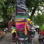 Богиня, исполняющая желания. Святилище фаллосов в Бангкоке.