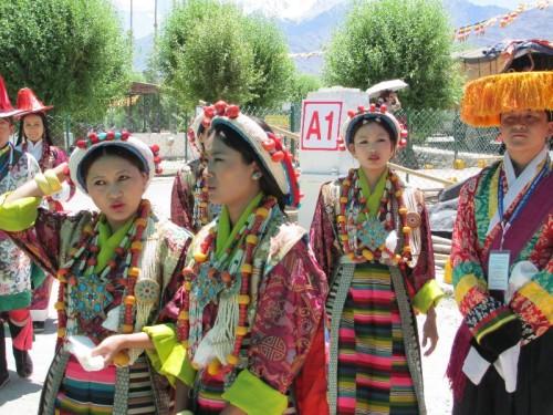 Tibetian girls