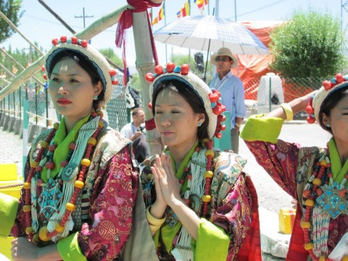 Girls from Tibet