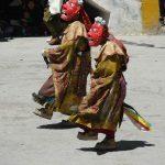 Танец Чам в тибетском монастыре Ки