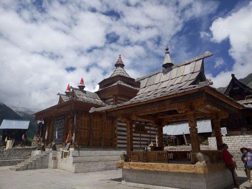 Temple. Kinnaur