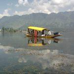 Кашмир. Озеро Дал